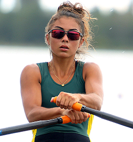 250218 TM 0020 Canterbury Junior Rowing Regatta Veronica Wall U18 Single Final festuer